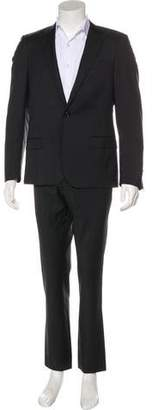 CNC Costume National Peak-Lapel Wool Suit