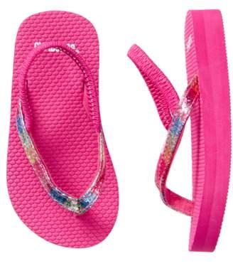 Gymboree Glitter Flip Flops