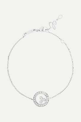 Chopard Happy Diamonds 18-karat White Gold Diamond Bracelet