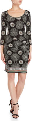 Max Studio Knotted Jersey Dress