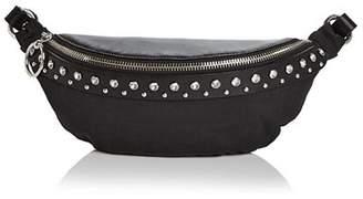 Rebecca Minkoff Crystal Studded Nylon & Leather Convertible Belt Bag