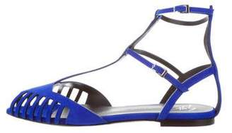 Giuseppe Zanotti Serge 05 Suede Sandals w/ Tags