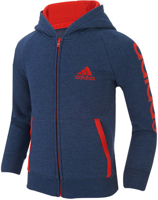 adidas Warm Up Jacket, Toddler Boys (2T-5T) & Little Boys (2-7) $40 thestylecure.com