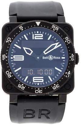 Bell & Ross BR 03-88 Type Aviation Carbon Watch