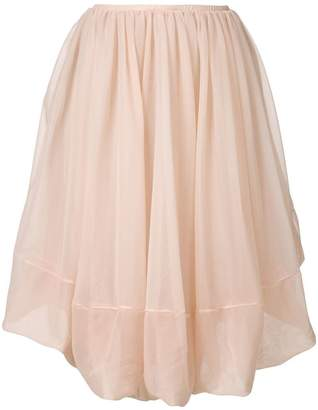 Jil Sander layered skirt