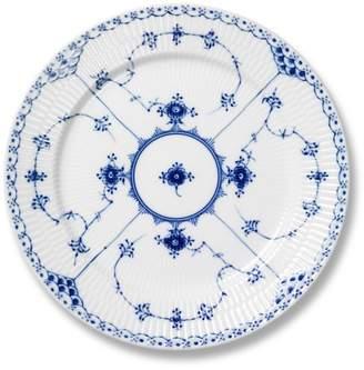 "Royal Copenhagen Blue Fluted Half Lace"" Lunch/Dessert Plate"