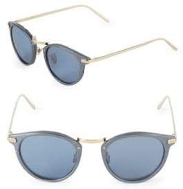 Linda Farrow Luxe 48MM Cat-Eye Sunglasses