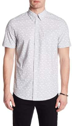 Ben Sherman Short Sleeve Regular Fit Floral Shirt