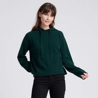 Naadam Cashmere Tracksuit Hoodie Forest Green