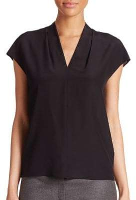 Escada Silk V-Neck Blosue
