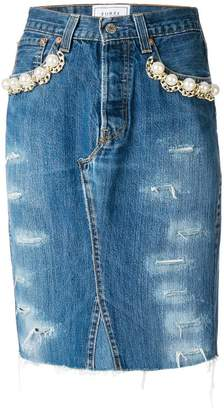 Couture Forte Dei Marmi デニム スカート