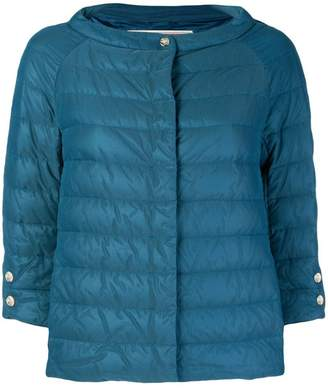 Herno feathered puffer jacket