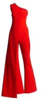 Safiyaa One-Shoulder Wide-Leg Jumpsuit
