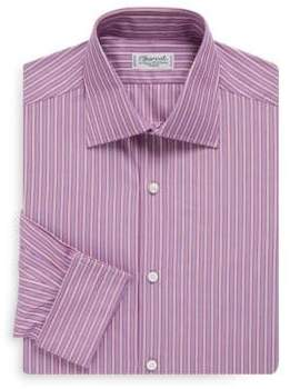 Charvet Regular-Fit Bold Stripe French Cuff Dress Shirt