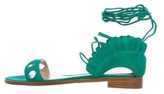 Paula Cademartori Lotus Cutout Sandals w/ Tags