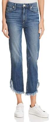 Paige Hoxton Straight Ankle Jeans in Norfolk