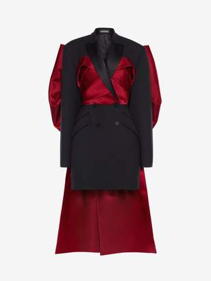 Alexander McQueen Bow Draped Jacket