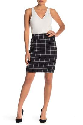 14th & Union Petite Knee Length Ponte Skirt (Petite)