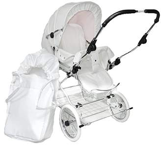 Eichhorn Pushchairs with Leather Strap Soft Pouch Öhen Adjustable Faux Leather Bed Frame with Nest