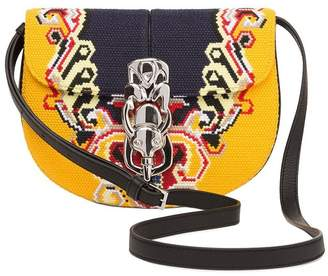 Lapin Embroidery Bag Yellow/Black