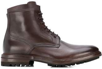 Henderson Baracco lace-up leather boots
