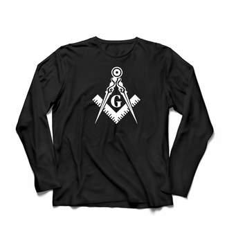 lepni.me Men's T-Shirt Fraternal & Masonic Logo Freemasonry Square and Compass