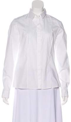 HUGO BOSS Boss by Poplin Long Sleeve Button-Up