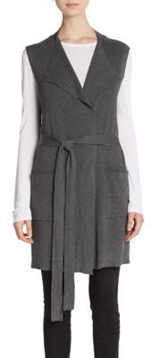 Knit Belted Cardigan $105 thestylecure.com