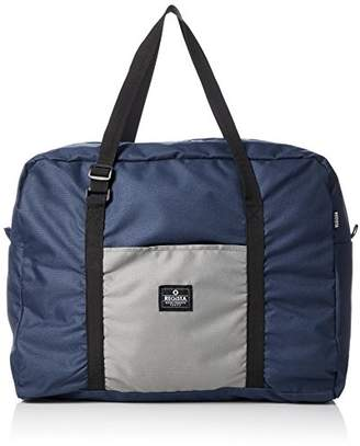 [レジスタ]折りたたみ ボストンバッグ メンズ レディース 男女兼用 スーツケースに乗せられる 出張 旅行 大容量 サブバッグ 2カラー ネイビー