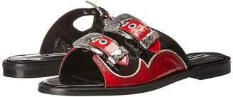 McQ Moon Buckle Slide Women's Slide Shoes