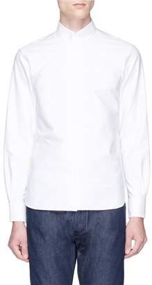 MAISON KITSUNÉ Fox logo embroidered Oxford shirt