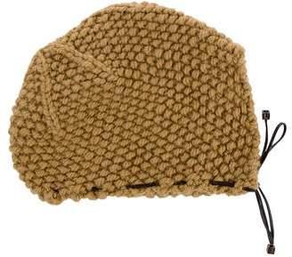 J. Mendel Wool Rib Knit Hat