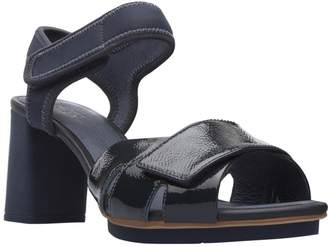 Camper Women's Myriam Mid Heel Leather Sandal