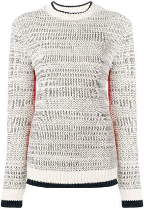 Victoria Beckham Victoria contrasting knit jumper