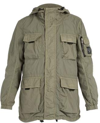 Belstaff Pallington Double Layered Lightweight Jacket - Mens - Dark Green