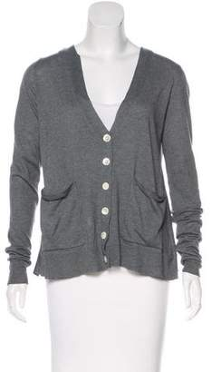 Equipment Long Sleeve Button-Up Cardigan