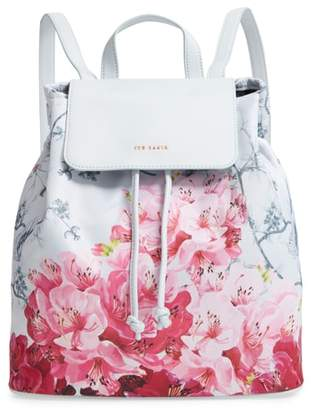 Ted Baker Belisaa Babylon Print Nylon Backpack