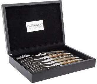 Laguiole Six-Piece Steak Fork Set