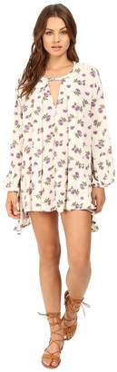 Brigitte Bailey Martina Floral Boho Dress Women's Dress