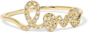 Sydney Evan Love 14-karat Gold Diamond Ring