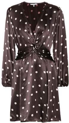 Ganni Cameron polka-dot dress