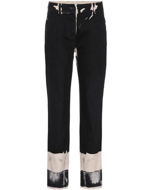 Prada Printed cotton trousers