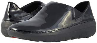 FitFlop Superloafer Patent Women's Slip on Shoes