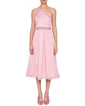 Ted Baker Kallii Off Shoulder Cotton Dress