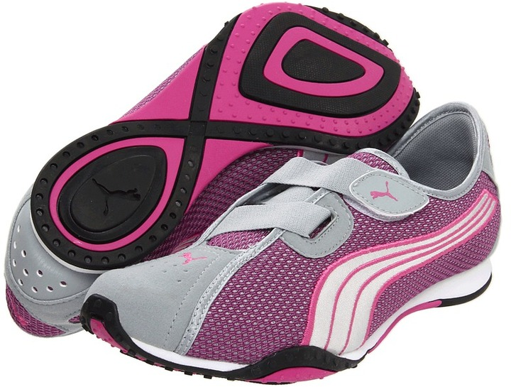 Puma Asha Alt MS Women's (Quarray Silver/Rose/Violet) - Footwear