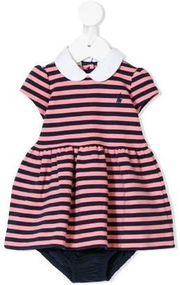 Ralph Lauren Kids striped flared dress