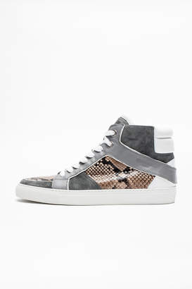 Zadig & Voltaire Zv1747 High Tone Men Sneakers
