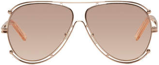 Chloé Rose Gold Isidora Sunglasses