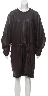 Lanvin Oversize Leather Jacket