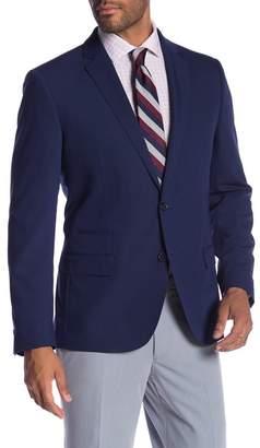 Co SAVILE ROW Avedon Blue Two Button Notch Lapel Slim Fit Bi-Stretch Jacket